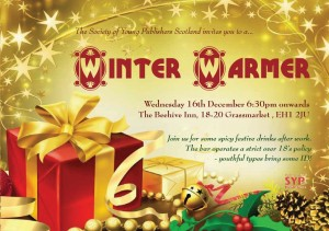 SYP Winter Warmer