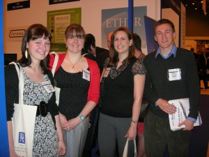 Stirling Publishing Students at the Fair