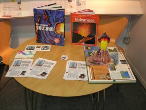 London Book Fair under the volcano
