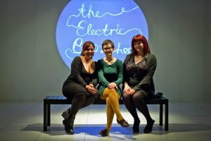 Padmini, Peggy and Claire at the Electric Bookshop.