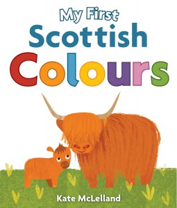 my first Scottish colours book cover
