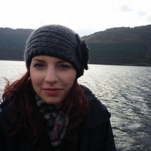 A photo of me while on holiday in the Scottish Highlands c. autumn 2014