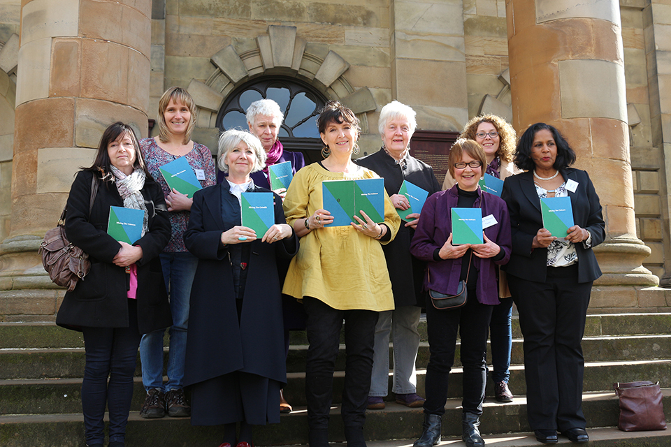 The authors of Mixing The Colours: women speaking about sectarianism
